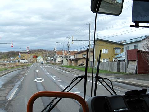 沿岸バス「豊富留萌線」 1401 車窓 その1
