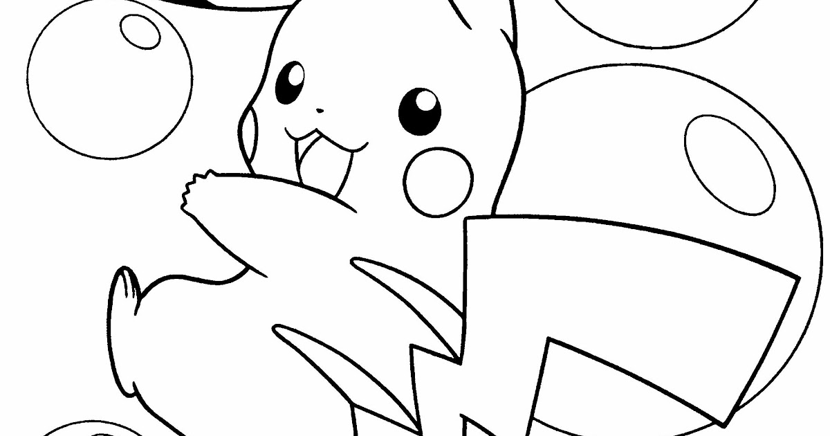 Top pokemon coloring pages pikachu ex image coloring for Pikachu coloring pages online