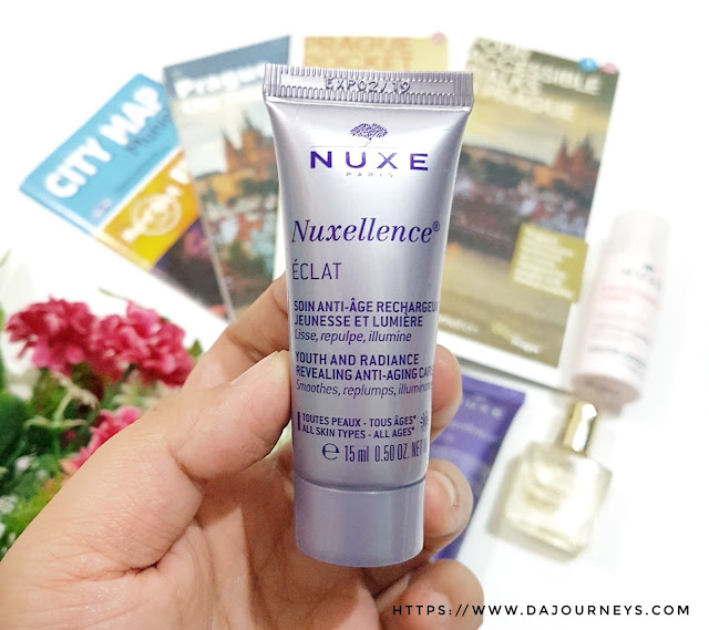 Nuxe Youth and radiance revealing anti-ageing care Review