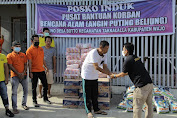Supriansa Bantu Korban Angin Puting Beliung di Desa Botto Kab. Wajo