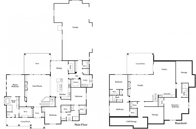 foster custom homes plan