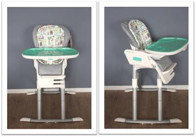Chaise haute Mimzy de Joie tourne sur 360°