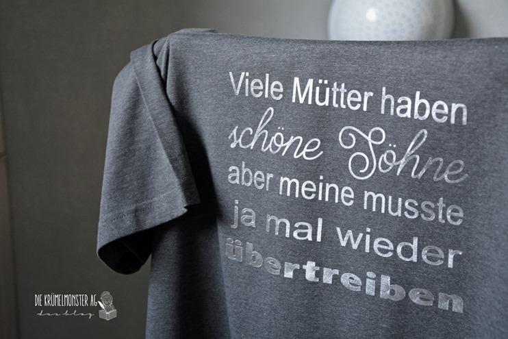 T-Shirt Christopher (03) Viele Mütter haben schöne Söhne