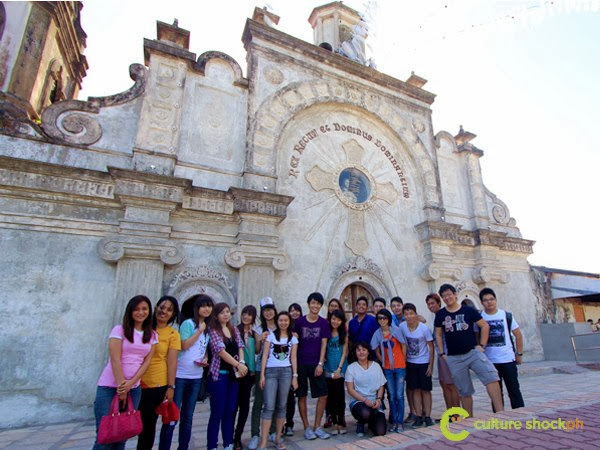 Church Half Buried Pinatubo Lahar Baroque Pampanga Philippines