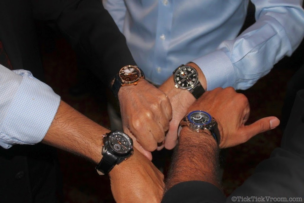 Ulysse Nardin Boca Raton Boutique Capital Grille Dinner 8659