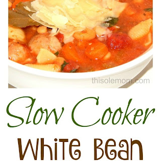 Slow Cooker White Bean and Italian Sausage Soup
