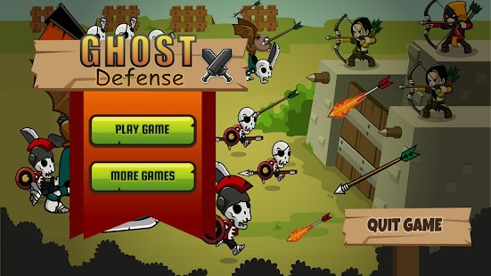 Ghost Defense: Zombie Ghosts🏹- screenshot thumbnail