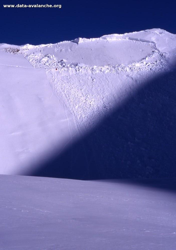 Avalanche Mont Thabor, secteur Punta Bagna, Combe du lac - Photo 1