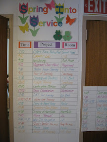 The directory for the day