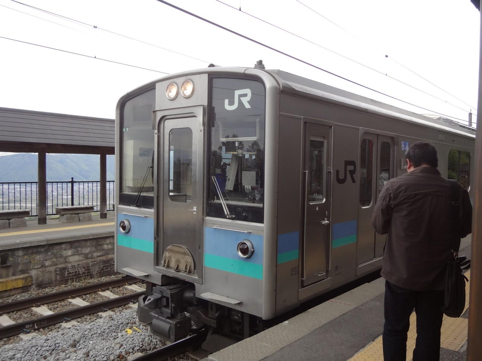 14:08 長野行きに乗車
