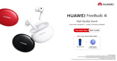 Huawei Opens Pre-bookings for HUAWEI FreeBuds 4i Nationwide
