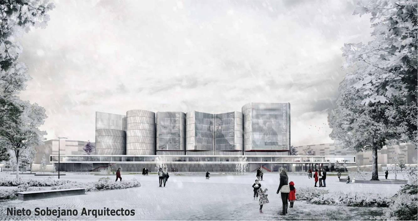 Mosca, Russia: Finalists For Competition the New National Center For Contemporary Arts