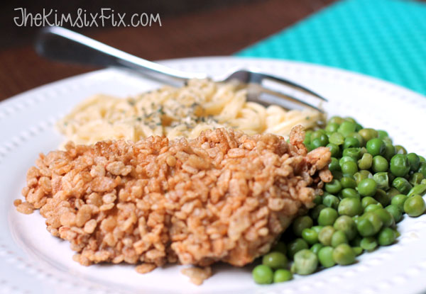 Cereal coated chicken recipe