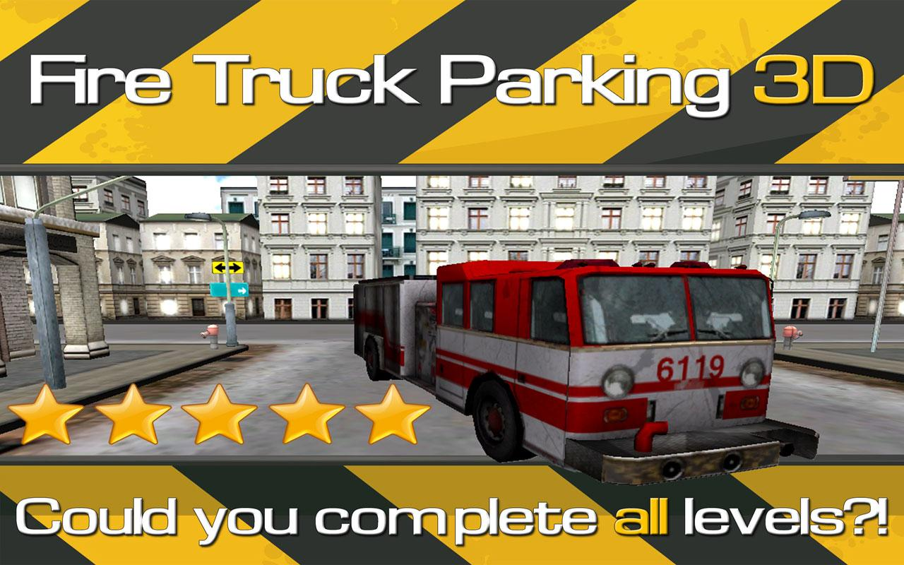 Fire Truck Parking 3D- screenshot