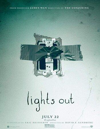 Lights Out 2016 Dual Audio [Hindi-English] 720p BluRay 750MB