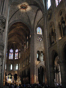 Nave and Sanctuary of Notre Dame de Paris