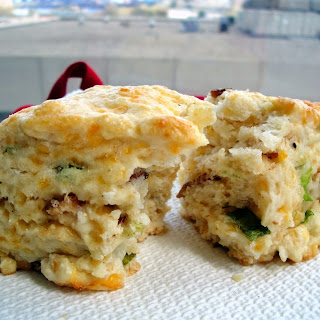 Bacon Cheddar Scallion Scones