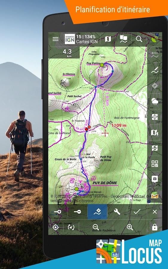 locus map pro outdoor gps navigation et cartes applications android sur google play. Black Bedroom Furniture Sets. Home Design Ideas