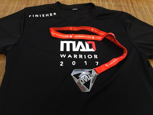 medal tshirt mad warrior season 1 2017