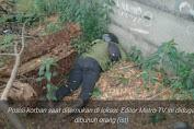 Ini Jejak Pembunuh Editor Metro TV, Sempat Mampir ke Warung Usai Membunuh