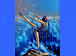 Ballerina Of Blue Waves