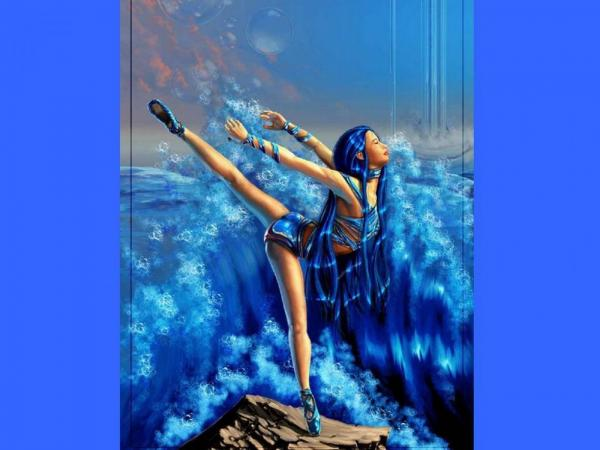 Ballerina Of Blue Waves, Undines