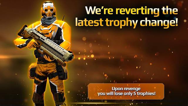 Sniper Fury PvP Değişikliği
