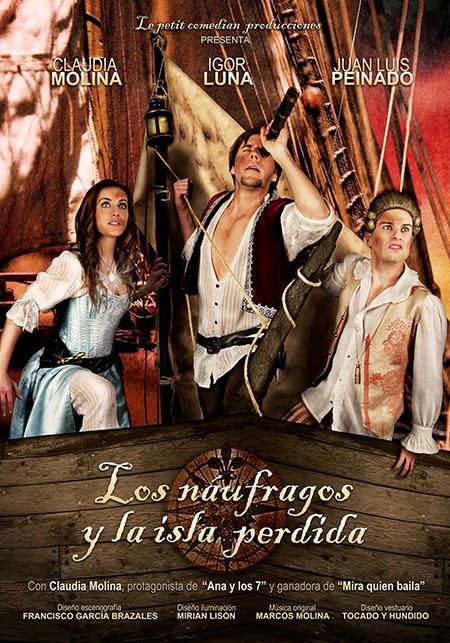 Musical infantil 'Los náufragos y la isla perdida' en el Teatro Quevedo