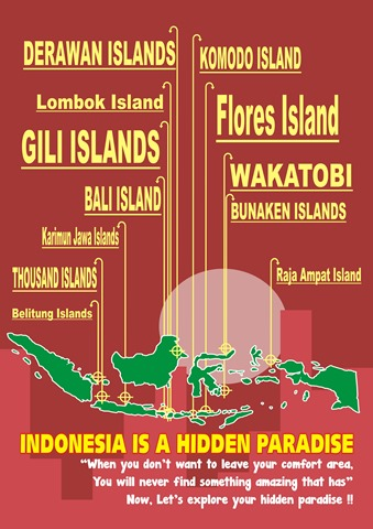 Indonesia is Hidden Paradise fix
