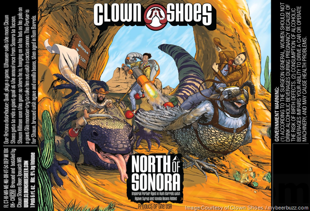 Clown Shoes Adding North Of Sonora