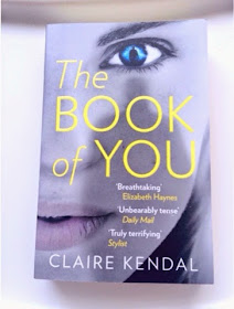 paperback copy of the Book of you by Claire Kendal