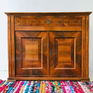 Inlaid Tulipwood Petite Sideboard