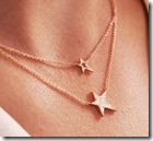 Double Layered Star Necklace