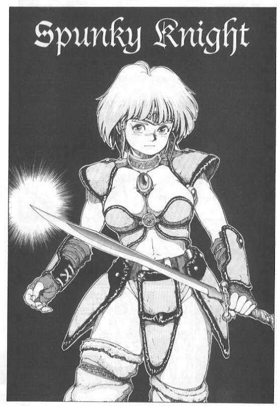 Spunky Knight 1, Warrior Girls 1