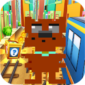 Subway Crossy scooby - Run Surf & Rush