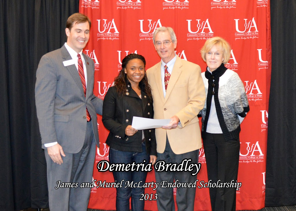 Scholarship Ceremony Spring 2013 - James%2Band%2BMuriel%2BMcLarty%2BEndowed%2BScholarship%2B-%2BDemetria%2BBradley%2Bcopy.jpg