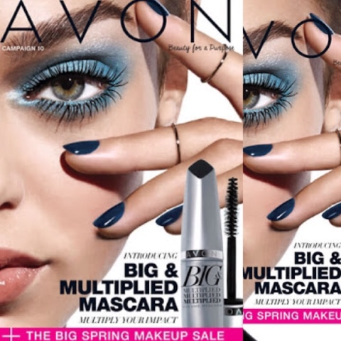 The AVON Big Spring Makeup Sales is all in this awesome Avon Catalog