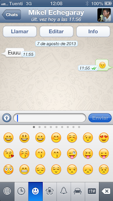 Activar Emoticonos Whatsapp 9