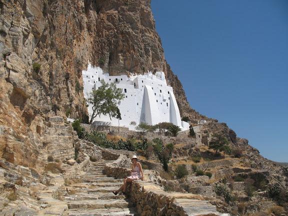 Monasterio de Hossoviotisa en Amorgós