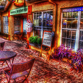 Downtown Dunedin,FL. by Edward Allen - Digital Art Places