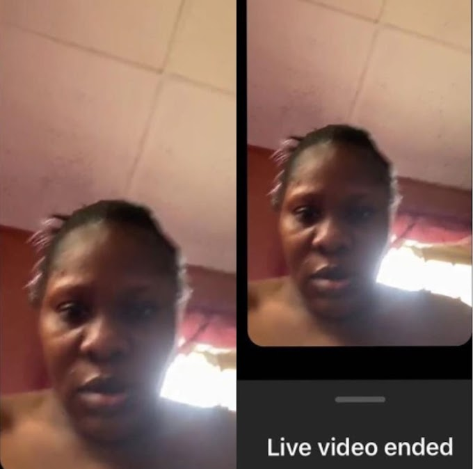 Owner Of Instablog Reacts After She Mistakenly Revealed Her Face On Live Video
