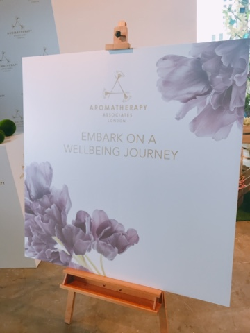 Siの小分享 ~ Aromatherapy Associates 瑰麗健康之旅