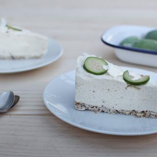 Feijoa Cheesecake (a healthier version).