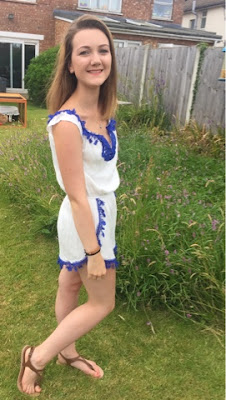 Summer OOTD: Boutique of Molly's 'Sarah' Playsuit