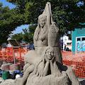 Port Angeles International sand carving contest