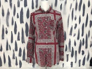Dolce & Gabbana Sheer Print Shirt