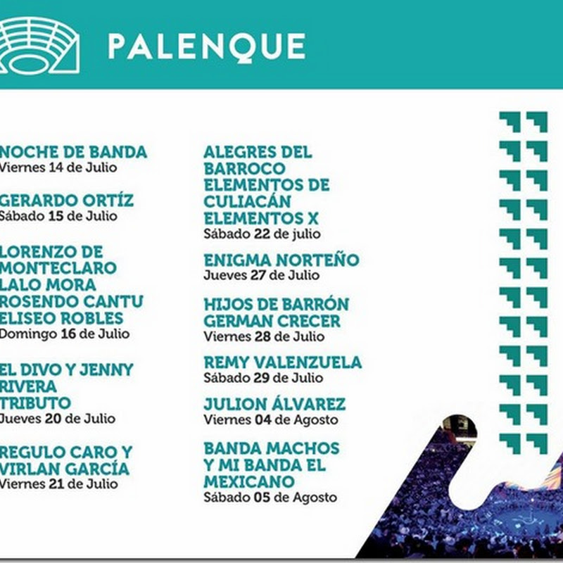 Feria de Durango 2017 Palenque Velaria y Expobandas