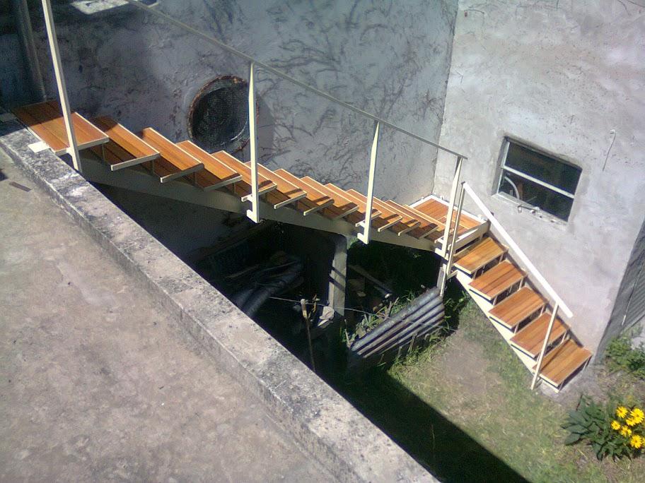 paso a paso constru mi propia escalera de hierro y