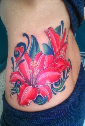 65339b16c fcddfeddaa UMARK · abafaeddeae · red lily tattoo ty mcewen - tattoo designs  ...