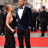 OIC - ENTSIMAGES.COM - Camilla Kerslake and Chris Robshaw at the The Olivier Awards in London 12th April 2015  Photo Mobis Photos/OIC 0203 174 1069